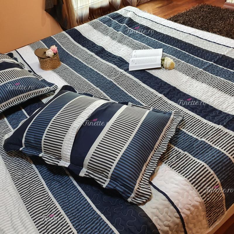 Cuvertura de pat din bumbac pentru pat dublu, 2 persoane