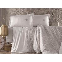 Lenjerie de pat pentru 2 persoane - Clasy, din bumbac 100% - Kara