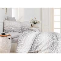 Lenjerie de pat pentru 2 persoane, 4 piese, Bahar Majoli, din bumbac 100% Ranforce - Lisa
