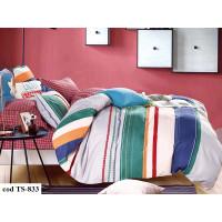 Lenjerie de pat bumbac finet, cu 4 piese, pentru 2 persoane, L'atelier Creatif Pucioasa - Luana