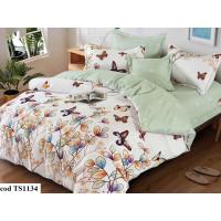 Lenjerie de pat bumbac finet, cu 6 piese, pentru 2 persoane, Dormy Pucioasa - Larisa