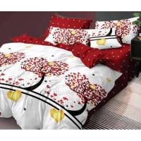 Lenjerie de pat din bumbac, ELVO, pentru 2 persoane, 4 piese, Ralex Pucioasa - Roberta