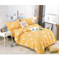 Lenjerie de pat din bumbac satinat pentru 1 persoana, cu 3 piese - Klara