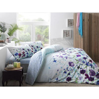 Lenjerie de pat pentru 1 persoana, 3 piese, TAC, din bumbac 100% Ranforce - Tania