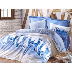Lenjerie de pat pentru 2 persoane, 4 piese - Cotton box, din bumbac 100% - Alexander