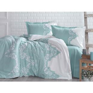 Lenjerie de pat pentru 2 persoane - Clasy, din bumbac 100% - Alexia