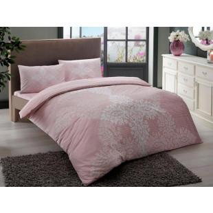 Lenjerie de pat pentru 1 persoana, 3 piese, TAC, din bumbac 100% Ranforce - Alexya