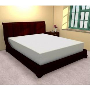 Cearceaf de pat cu elastic din bumbac, 160x210 cm, Ralex Pucioasa