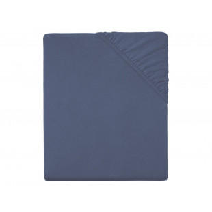 Cearceaf de pat cu elastic, 90x200 cm alb Meradiso