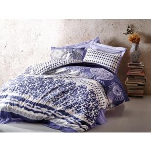 Lenjerie de pat pentru 2 persoane, 4 piese - Cotton box, din bumbac 100% - Cornelia