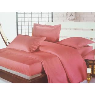 Lenjerie de pat Pucioasa, din bumbac 100% Damasc, 2 persoane, 4 piese, Dormy - Helen
