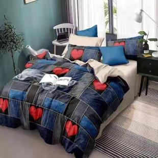 Lenjerie de pat rabat/finet, pentru 2 persoane, Ralex Pucioasa - Jamila
