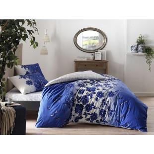 Lenjerie de pat pentru 1 persoana, 3 piese, TAC, din bumbac 100% Ranforce - Iudita