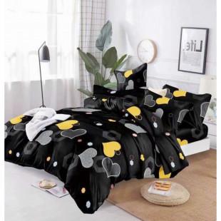 Lenjerie de pat Cocolino, pentru 2 persoane, cu 4 piese - Mihaela