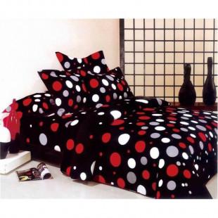 Lenjerie de pat Cocolino, pentru 2 persoane, cu 4 piese - Morena