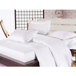 Lenjerie de pat Pucioasa, din bumbac 100% Damasc, 2 persoane, 4 piese, Dormy - Helene