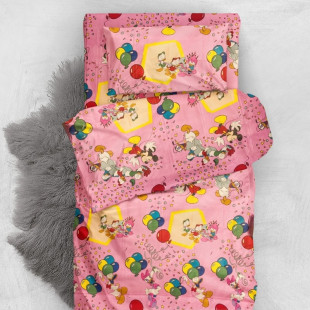 Lenjerie de pat din bumbac 100% neted, Armonia Textil - Donald