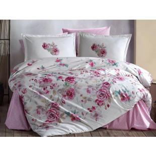 Lenjerie de pat pentru 2 persoane - Clasy, din bumbac 100% - Lenna