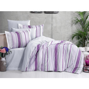 Lenjerie de pat Ranforce, pentru 2 persoane - Clasy, din bumbac 100% - Felicia