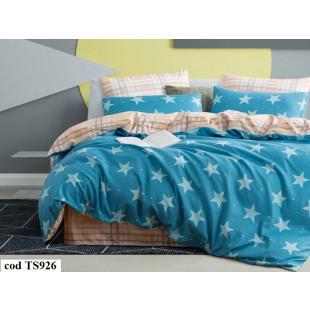 Lenjerie de pat bumbac finet, cu 6 piese, pentru 2 persoane, L'atelier Creatif Pucioasa - Lorin