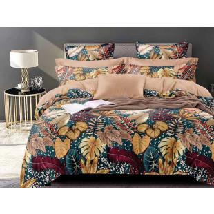 Lenjerie de pat bumbac finet, cu 6 piese, pentru 2 persoane, L'atelier Creatif Pucioasa - Sandra