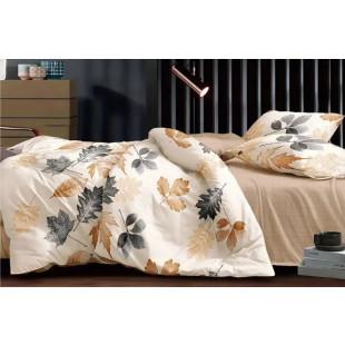 Lenjerie de pat bumbac finet, cu 6 piese, pentru 2 persoane, L'atelier Creatif Pucioasa - Tania