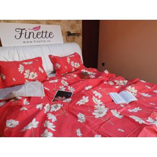 Lenjerie de pat bumbac finet, pentru 2 persoane