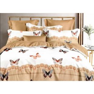 Lenjerie de pat bumbac finet, pentru 2 persoane, cu 6 piese, Ralex Pucioasa - Danina