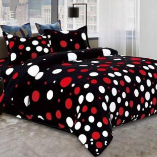 Lenjerie de pat Cocolino, pentru 2 persoane, cu 4 piese - Selena