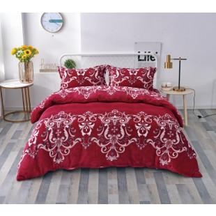 Lenjerie de pat cocolino, pufoasa, pentru 2 persoane, cu 4 piese - Camelia