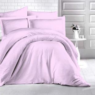 Lenjerie de pat Damasc, (Horeca) din bumbac 100%, pentru 2 persoane, Ralex Pucioasa - Alexia