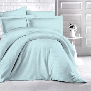 Lenjerie de pat Damasc, (Horeca) din bumbac 100%, pentru 2 persoane, Ralex Pucioasa - Damaris