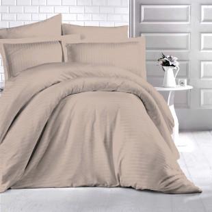 Lenjerie de pat Damasc, (Horeca) din bumbac 100%, pentru 2 persoane, Ralex Pucioasa - Fenia