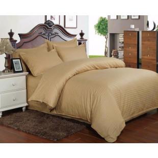 Lenjerie de pat din bumbac 100% Damasc, 2 persoane, 4 piese, Dormy Pucioasa - Celia