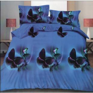 Lenjerie de pat din bumbac, ELVO, pentru 2 persoane, 4 piese, Ralex Pucioasa - Alisha