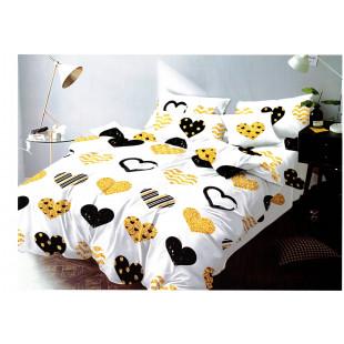 Lenjerie de pat din bumbac, ELVO, pentru 2 persoane, 4 piese, Ralex Pucioasa - Clara