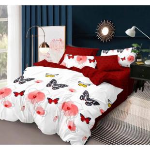 Lenjerie de pat din bumbac, ELVO, pentru 2 persoane, 4 piese, Ralex Pucioasa - Elisabeta