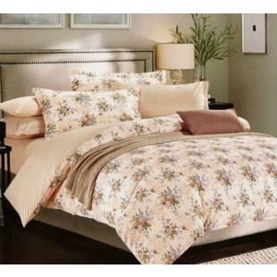 Lenjerie de pat din bumbac, ELVO, pentru 2 persoane, 4 piese, Ralex Pucioasa - Lisa
