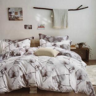 Lenjerie de pat din bumbac, ELVO, pentru 2 persoane, 4 piese, Ralex Pucioasa - Mirabela