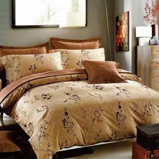 Lenjerie de pat din bumbac, ELVO, pentru 2 persoane, 4 piese, Ralex Pucioasa - Oana