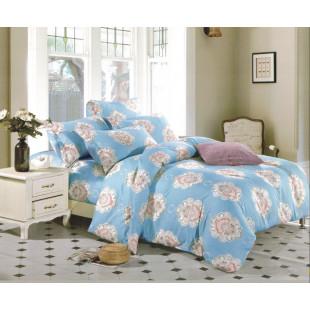 Lenjerie de pat din bumbac satinat pentru 1 persoana, cu 3 piese - Sidonia