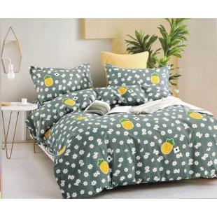 Lenjerie de pat din bumbac satinat pentru 1 persoana, cu 3 piese - Olivia