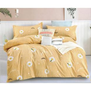 Lenjerie de pat din bumbac satinat pentru 1 persoana, cu 3 piese - Timeea
