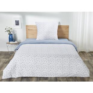 Lenjerie de pat dublu, pentru 2 persoane din bumbac Ranforce - Olivia