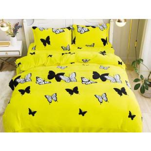 Lenjerie de pat cocolino, pufoasa, pentru 2 persoane, cu 4 piese, East Confort - Clarice