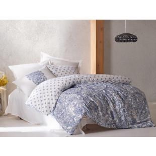 Lenjerie de pat pentru 1 persoana, 3 piese - Cotton box, din bumbac 100% - Keyla