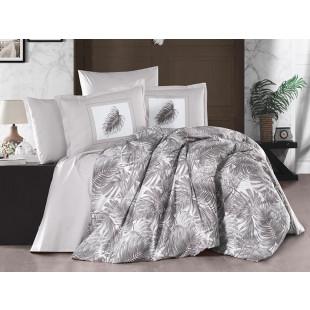 Lenjerie de pat pentru 2 persoane - Clasy, din bumbac 100% - Karla