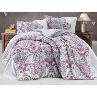 Lenjerie de pat pentru 2 persoane - Clasy, din bumbac 100% - Larisa
