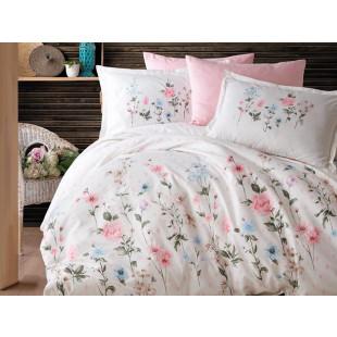 Lenjerie de pat pentru 2 persoane - Clasy, din bumbac 100% - Nadina