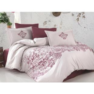 Lenjerie de pat pentru 2 persoane - Clasy, din bumbac 100% - Semida